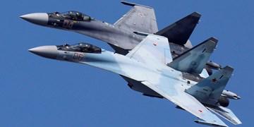 «سوخو-27» روسیه هواپیمای جاسوسی آمریکا را برفراز دریای سیاه رهگیری کرد
