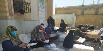 تهیه و توزیع 14 هزار پرس غذای غدیر در کهگیلویه