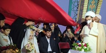 شهدای گمنام میزبان جشن وصلت زوج دهدشتی