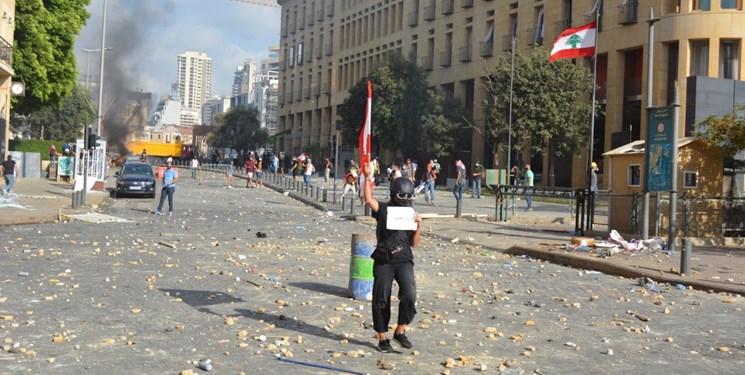 تظاهرات خشونتآمیز در بیروت یک کشته و ۱۸۰ مجروح بر جای گذاشت