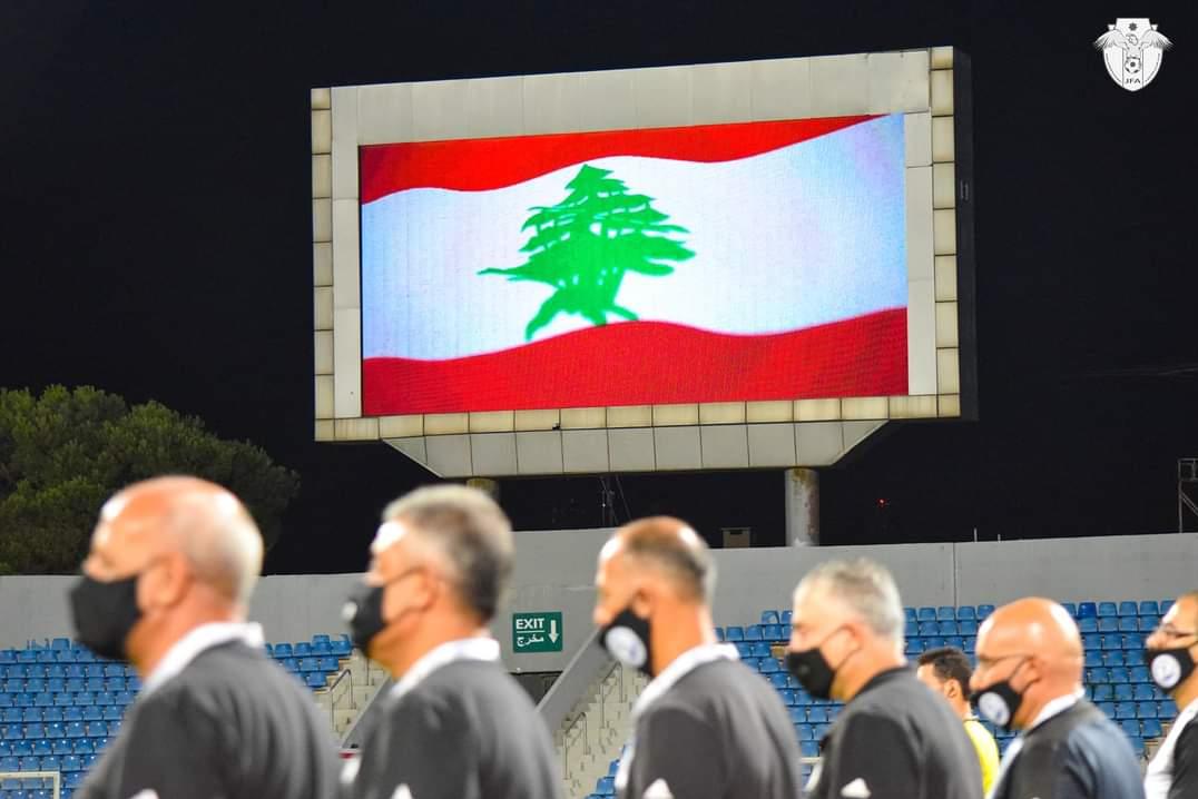 13990519000265 Test NewPhotoFree - یک دقیقه سکوت در لیگ اردن به احترام قربانیان حادثه انفجار بیروت+تصاویر