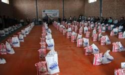 کمک مومنانه؛ توزیع بستههای معیشتی به نیت شهید سلیمانی در سیرجان