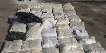 کشف 417 کیلو تریاک دپوشده در عملیات پلیس سیرجان