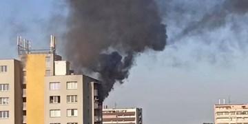 آتشسوزی  مجتمع تجاری در شیراز مهار شد