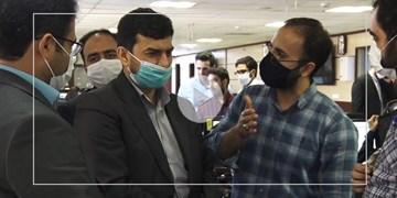 بازدید سرپرست وزارت صمت از خبرگزاری فارس