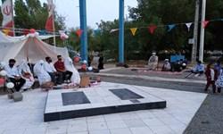 برگزاری جشن ازدواج 3 زوج جوان در جوار مزار شهدای گمنام رودبار جنوب
