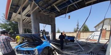 انفجار کپسول  سی انجی نیسان در نکا/ مصدوم شدن 5 نفر