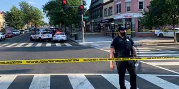 داستان ناتمام تیراندازی درآمریکا؛ 1 کشته و 21 مجروح در پایتخت ایالات متحده