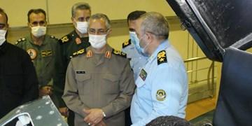بازدید رئیس دفتر نظامی فرمانده معظم کل قوا از پایگاه هوایی چابهار