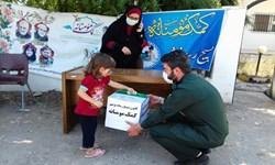 خردسالترین کمککننده مؤمنانه در مازندران به کمک نیازمندان شتافت+عکس