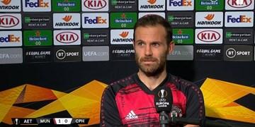 ماتا: منچستریونایتد خیلی خسته بود/ می توانستیم بیشتر گل بزنیم