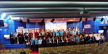 اعطای تندیس بلورین دو ستاره جایزه ملی تعالی نگهداری به گروه صنعتی بارز