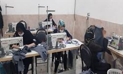 اشتغال ۳۰ زن سرپرست خانوار در مرکز نیکوکاری کمیته امداد سیرجان