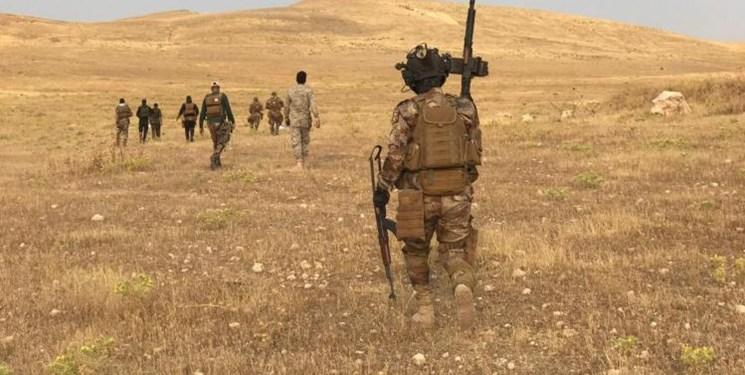 دفع حمله داعش به میدان نفتی دیالی عراق توسط الحشد الشعبی