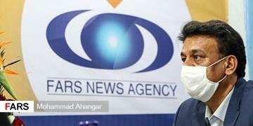 حضور مدیرعامل شهرک های صنعتی خوزستان در دفتر خبرگزاری فارس