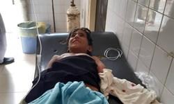 پسر بچه روستایی مورد حمله تمساح قرار گرفت