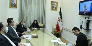 گفتوگوی ویدئو کنفرانسی سخنگویان وزارت خارجههای ایران و روسیه