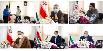 حضور مسوولان در خبرگزاری فارس به بهانه روز خبرنگار
