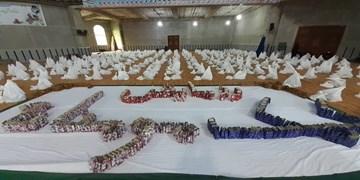 توزیع بسته رزمایش کمک مومنانه به ارزش ۲ میلیارد تومان در محمودآباد