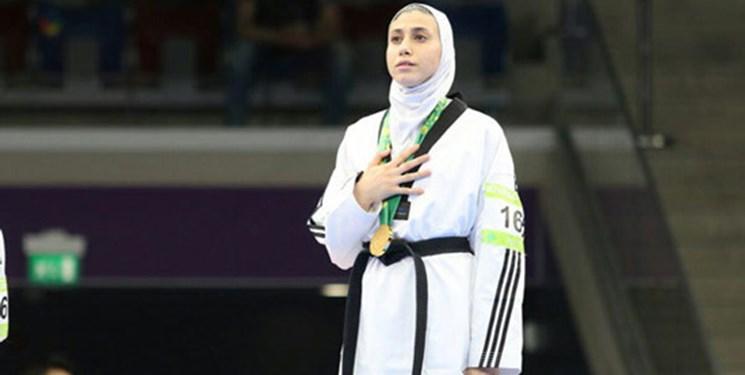 قهرمانی تکواندو بانوان آسیا|شکست قهرمان جهان مقابل بانوی ایرانی/کیانی المپیکی شد