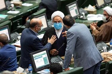 مرتضی آقا تهرانی نماینده مردم تهران در مجلش شورای اسلامی