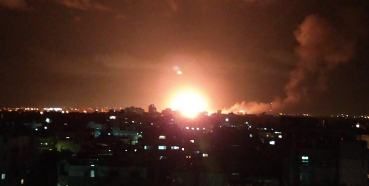 حمله هوایی رژیم صهیونیستی به نقاطی در نوار غزه