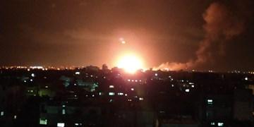 حمله هوایی و توپخانهای رژیم صهیونیستی به نوار غزه