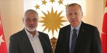رئیس دفتر سیاسی حماس به ترکیه سفر کرد