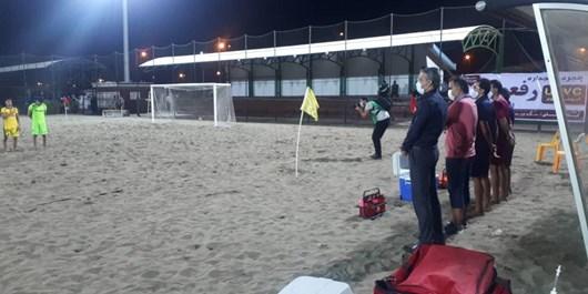 آغاز لیگ برتر فوتبال ساحلی با رعایت دقیق پروتکل های بهداشتی +عکس