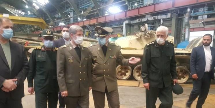 افتتاح خط بهینهسازی و ارتقاء تانک در وزارت دفاع/ ارتقاء تانکها در تراز تانک T-90
