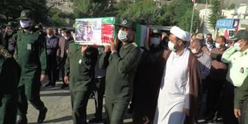 تشییع پیکر شهید حامد سیفی در سردشت