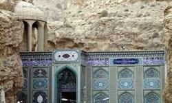 خسارت  ناشی از زلزله به بخشی از ساختمان امامزاده بی بی حکیمه (س) گچساران