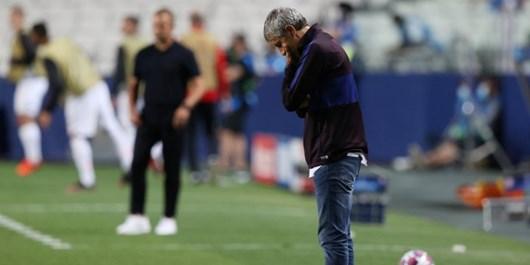ستین فردا رسما از مربیگری در بارسلونا اخراج میشود