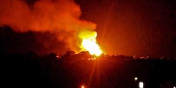 الجزیره از حمله موشکی به شهر «مأرب» خبر داد