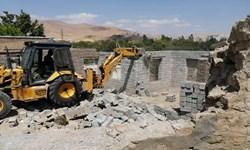 ۶۴۶ فقره تغییر کاربری غیرمجاز در زمینهای کشاورزی کرمانشاه تخریب شد