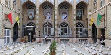 کمکهای مومنانه| توزیع 1500 بسته معیشتی توسط قرارگاه تبلیغی عمار منصوریه شیراز