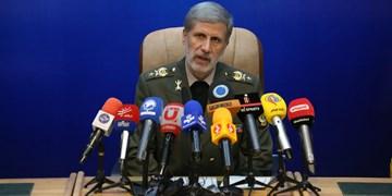 وزیر دفاع: حق تعقیب قاتلان شهید سلیمانی به قوت خود باقی است