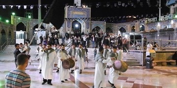 امامزاده صالح(ع) جامه سیاه پوشید +برنامه محرم