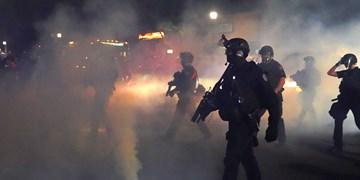 هشتادمین شب اعتراضات پورتلند به خشونت کشیده شد