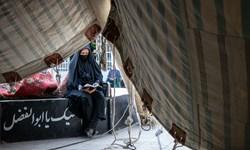 آیین سنتی برپایی خیمههای عاشورایی در زرقان