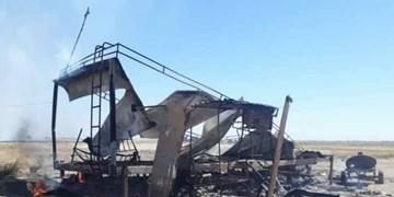 حمله بالگردهای آمریکایی به مقر ارتش سوریه