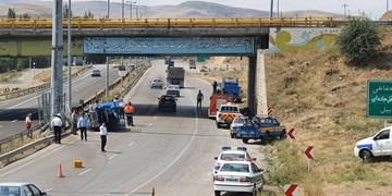 خوابآلودگی راننده ۴ کشته و مصدوم بر جای گذاشت