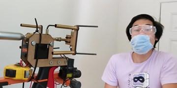 ساخت دستگاه ماسک پرت کن در آمریکا
