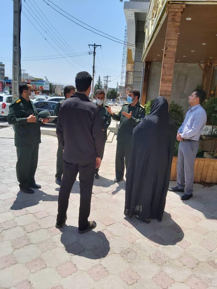 دیدار مسوولان سپاه فتح با خانواده شهید رسانه عبدیان