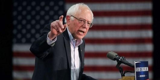 سندرز از ریاکاری پامپئو در «موعظه» دیگر کشورها درباره دموکراسی انتقاد کرد