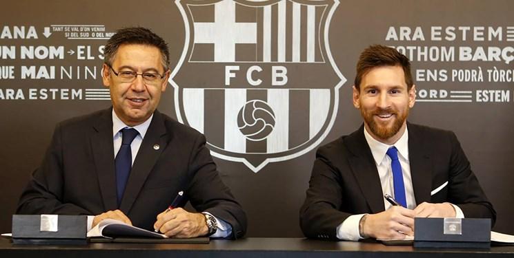 واکنش رئیس بارسلونا به خروج مسی و جذب نیمار