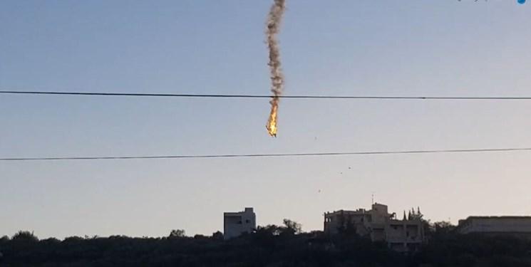برخورد و سقوط دو پهپاد آمریکا در آسمان ادلب