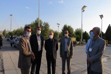 بازدید مسؤولان استانی از روند برگزاری کنکور سراسری در دانشگاه سمنان
