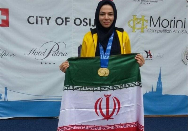 بانوی طلایی استان فارس جایی برای تمرین ندارد
