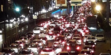 مسدودی و ترافیک سنگین در محور «ناهارخوران» گرگان